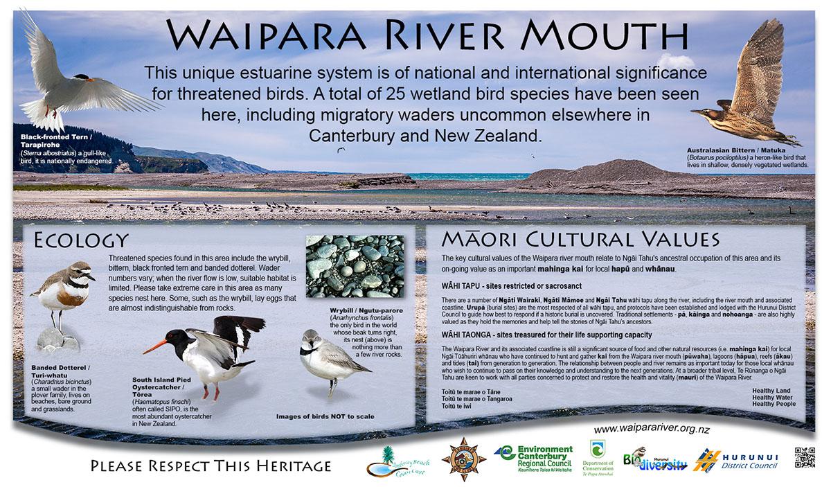 Waipara River hapua / estuary